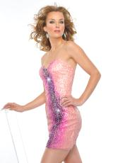 Precious Formals P20991.  Available in Petal Pink/Lilac