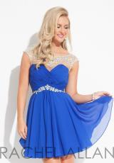 Rachel Allan 6635.  Available in Mint, Red, Royal, White