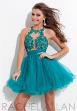 Rachel Allan 6636.  Available in Cobalt/Nude, Teal/Nude