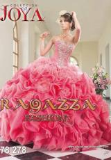 Ragazza A78-278.  Available in Aqua, Coral/Watermelon, Fuchsia, Jade, Mint Green, Nude, Turquoise, Violet