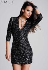 Shail K. KL3223.  Available in Black/Silver, Red, Turquoise