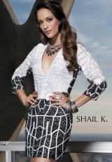 Shail K. 3442.  Available in Black/White