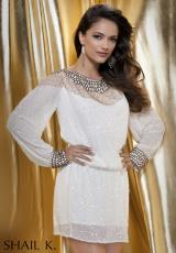 Shail K. 3445.  Available in Ivory