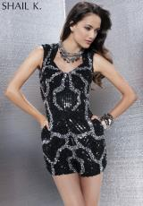Shail K. 3464.  Available in Black/Silver