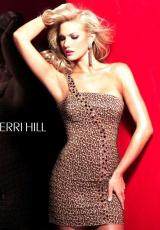 Sherri Hill Short 2767.  Available in Leopard