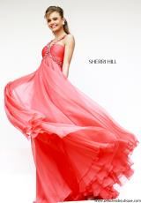 Sherri Hill 11072.  Available in Blue, Coral, Green, Ivory, Nude, Pink, Royal, Silver, Turquoise