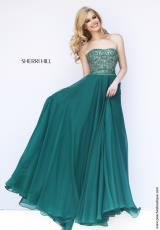 Sherri Hill 11179.  Available in Emerald, Purple, Red, Royal, Turquoise