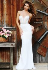 Sherri Hill 11260.  Available in Aqua, Black, Coral, Gunmetal, Ivory, Nude, Red