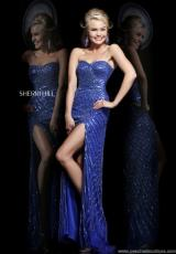 Sherri Hill 1714.  Available in Sapphire