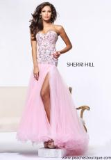 Sherri Hill 21026.  Available in Nude, Pink, Red/Red