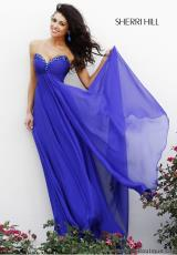 Sherri Hill 21035.  Available in Royal Purple