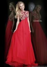 Sherri Hill 21321.  Available in Nude/Ivory, Nude/Red
