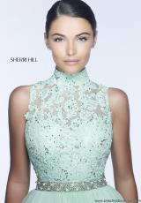 Sherri Hill 21334.  Available in Aqua, Blush, Ivory, Light Green, Periwinkle, Red