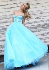 Sherri Hill 21367.  Available in Ivory, Purple