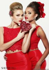 Sherri Hill 21372.  Available in Red, Yellow