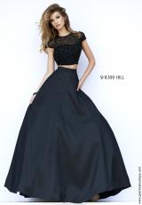 Sherri Hill 32060.  Available in Black