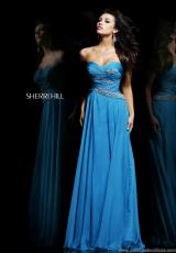 Sherri Hill 3881.  Available in Black, Emerald, Royal, Teal