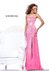 Sherri Hill 8515.  Available in Aqua, Ivory, Light Yellow, Lilac, Strawberry