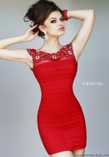 Sherri Hill Short 32047.  Available in Black, Red