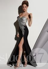 Studio 17 12436.  Available in Black/Multi, Black/Silver