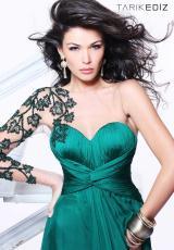 Tarik Ediz 92114.  Available in Black, Emerald