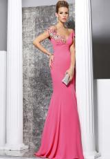 Tarik Ediz 92167.  Available in Coral, Sax