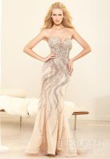 Terani Evenings GL3432.  Available in Nude