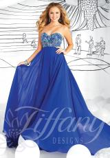 Tiffany 16028.  Available in Fuchsia/Pink, Royal/Turquoise