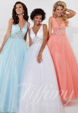 Tiffany 61135.  Available in Baby Blue, Peach Daiquiri, White