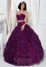 Tiffany Quinceanera 26708.  Available in Ivory, Magenta, Turquoise, White