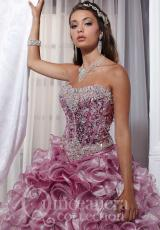 Tiffany Quinceanera 26719.  Available in Gold, Pink, Royal, White