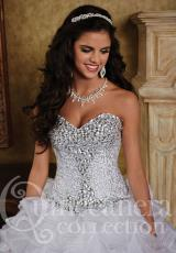 Tiffany Quinceanera 26753.  Available in Coral, White