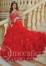 Tiffany Quinceanera 26756.  Available in Emerald, Red