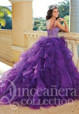Tiffany Quinceanera 26764.  Available in Purple, Turquoise, White