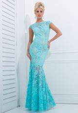 Tony Bowls Evenings TBE11405.  Available in Aqua, Black/Nude