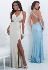 Tony Bowls Evenings TBE11409B.  Available in Gold, Turquoise