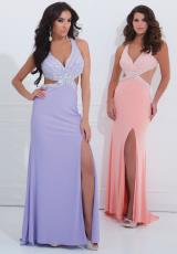 Tony Bowls Evenings TBE11409A.  Available in Aqua, Coral, Lilac