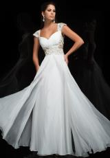 Tony Bowls Evenings TBE11442.  Available in Ivory