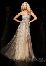 Tony Bowls Evenings TBE11443.  Available in Champagne