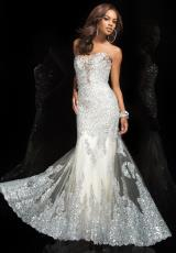 Tony Bowls Evenings TBE11447.  Available in Champagne