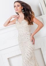 Tony Bowls Evenings TBE11507.  Available in Ivory/Silver