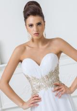 Tony Bowls Evenings TBE11517.  Available in Ivory/Gold
