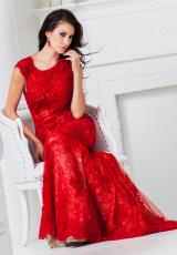 Tony Bowls Evenings TBE11520.  Available in Black/Nude, Red, White/Nude