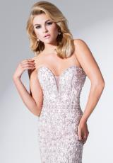 Tony Bowls Evenings TBE11537.  Available in Light Blush