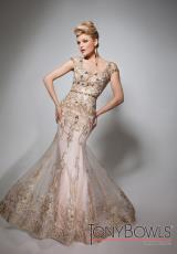 Tony Bowls Evenings TBE21361.  Available in Gold
