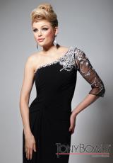 Tony Bowls Evenings TBE21366.  Available in Black