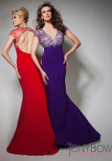 Tony Bowls Evenings TBE21383.  Available in Purple, Red
