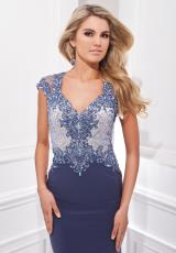 Tony Bowls Evenings TBE21406.  Available in Champagne, Light Coffee, Periwinkle