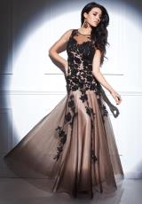 Tony Bowls Evenings TBE21409.  Available in Black/Nude