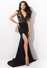 Tony Bowls Evenings TBE21410.  Available in Black/Nude